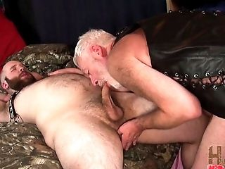 Anal Sex, Bareback, Big Ass, Blowjob, Caucasian, Couple, Daddies, Dick, Freckled, Hairy,