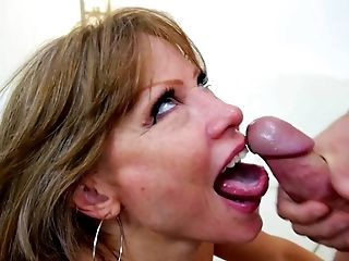 Ball Licking, Big Tits, Blowjob, Boyfriend, Cum In Mouth, Cumshot, Daughter, Deepthroat, Fake Tits, HD,