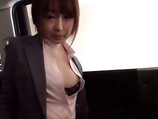 Asian, Bra, Car, Clothed Sex, Couple, Doggystyle, Ethnic, Fucking, Gorgeous, Hardcore,
