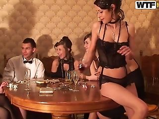 Anal Sex, Angelic Anya, Blonde, Group Sex, HD, Party, Russian,