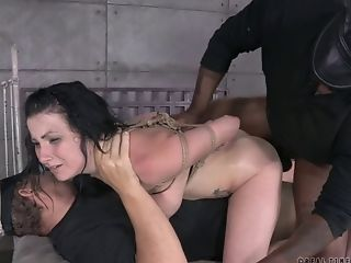 BDSM, Bondage, Double Penetration, Rough, Screaming, Submissive, Tied, Torture,