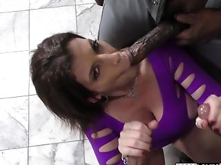 Big Black Cock, Big Cock, Hardcore, Interracial, MILF, Mom, Sara Jay, Stepmom,