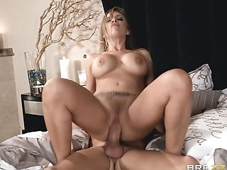 Babe, Bedroom, Big Tits, Blowjob, Britney Amber, Couple, Cum, Cumshot, Cute, Doggystyle,