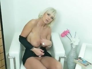 Big Tits, Blonde, Cunt, European, GILF, Mature, MILF, Rubbing,
