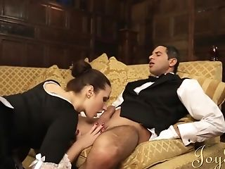 Big Ass, Big Cock, Blowjob, Brunette, HD, MILF, Paige Turnah, Uniform,