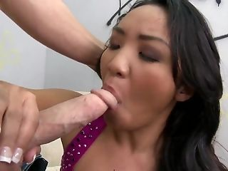 Blowjob, Condom, Ethnic, HD, Katherine Lee, MILF, Teen,