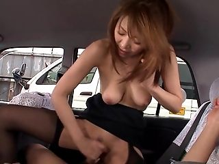 Asiaten, Blowjob, Brünette, Im Auto, Paar, Doggystyle, Ethnisch, Behaart, Hd, Japaner,