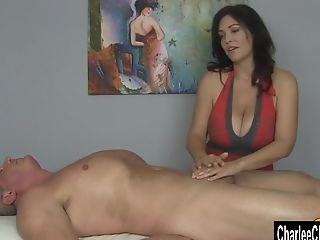 Big Tits, Charlee Chase, Cum, Handjob, HD, Massage, MILF,