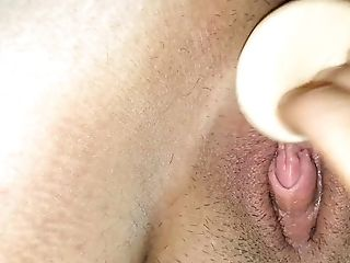Big Clit, Dildo, Homemade,