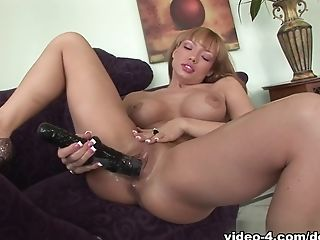 Big Ass, Big Tits, Dildo, Exotic, Horny, Masturbation, Maya Hills, Pornstar, Redhead, Sex Toys,