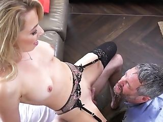Amazing, Blowjob, Cheating, Couch, Cowgirl, Cuckold, Cum In Mouth, Cumshot, Facial, Fantasy,