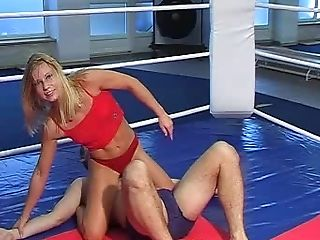 Baby, Bdsm, Catfight, Domination, Domina, Fitness, Sport, Ringen,