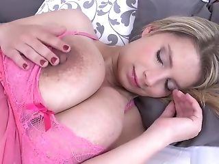 Big Tits, Czech, Jerking, Katerina Hartlova, Pornstar, Pregnant, Striptease,