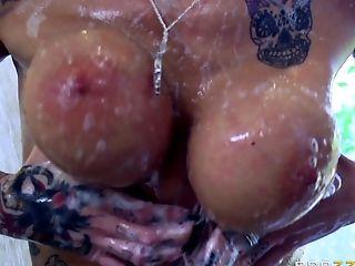 Babe, Big Nipples, Big Tits, Blowjob, Bold, Brunette, Close Up, Couple, Cowgirl, Deepthroat,