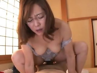 Dick, Glasses, Japanese, Mature, MILF,