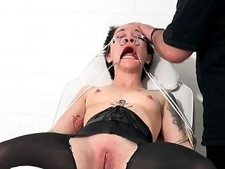 BDSM, Bizarre, Bold, Bondage, Boobless, Brunette, Caucasian, Couple, Domination, Ethnic,