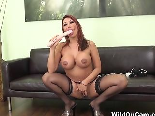 Anal Sex, Ava Devine, Big Ass, Big Tits, Dildo, Latina, Masturbation, Mature, Pornstar, Sex Toys,
