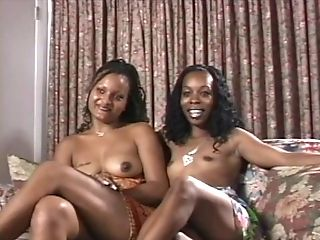 African, Babe, Black, Leather, Natural Tits,
