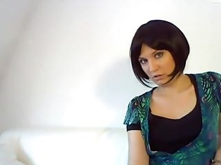 Amateur, Brunette, European, German, Nude, Softcore, Solo, Webcam,