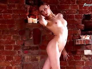 Ballerina, Flexible, Model, Natural Tits, Nude, Russian, Solo, Teen, White,