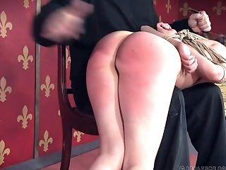 Ass, BDSM, Bondage, Boobless, Brunette, Dirty, Fingering, Lingerie, Nipples, Slap,