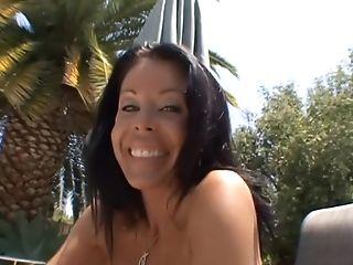Amazing, Big Cock, Big Tits, Blowjob, Brunette, Cumshot, Cunnilingus, Facial, MILF, Outdoor,