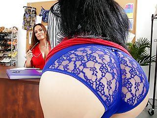 Ass, Beauty, Big Ass, Big Tits, Boss, Brunette, Business Woman, Cunnilingus, Cute, Fake Tits,
