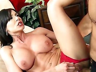 Big Tits, Blowjob, Brunette, Dick, Handjob, Kendra Lust, MILF, Rough, Titjob,