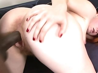 Babe, Big Cock, Close Up, Couple, Cumshot, Hardcore, Interracial, Missionary, Pussy, Redhead,