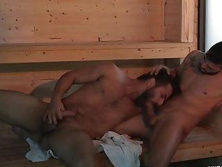 Couple, HD, Riding, Sauna,