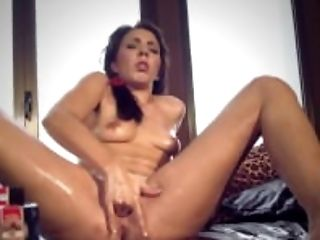 Brunette, Clit, Female Ejaculation, Fingering, HD, Masturbation, Moaning, Sex Toys, Solo, Squirting,