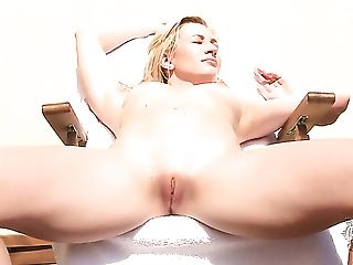 Babe, Big Tits, Blonde, Bold, Boobless, Dildo, Exhibitionist, Fingering, Hairy, Hardcore,