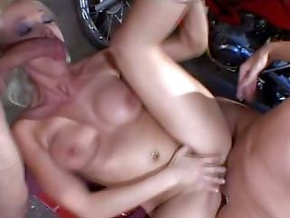 Amateur, Anal Creampie, Anal Sex, Babe, Blonde, Blowjob, Cute, Double Penetration, First Timer, HD,
