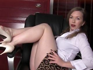 Feet, Legs, MILF, Mistress T, Mom, Shoe,
