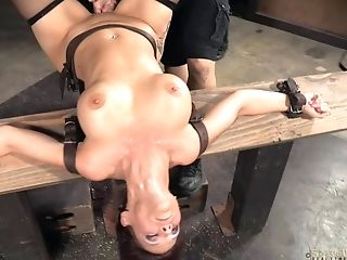 Babe, BDSM, Black, Bondage, Cage, Fetish, Friend, Torture, White,