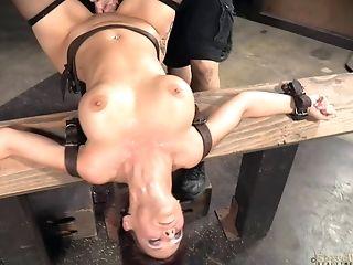 Babe, BDSM, Black, Bondage, Cage, Fetish, Friend, Torture, White,