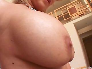 Big Tits, Blonde, Couple, Fake Tits, Fingering, Hardcore, Lingerie, MILF, Nylon, Shaved Pussy,