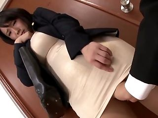 Big Tits, Japanese, Perverted, Secretary,