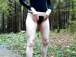 Handjob, HD, Masturbation, Nature, Outdoor, Sex Toys, Small Cock,