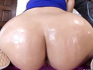Big Ass, Big Tits, Brunette, Gangbang, Gym, Hardcore, HD, Interracial, Natural Tits, Oiled,