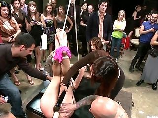 Pénétration Anale, Bdsm, Attachés, Brandy Aniston, Pénétration Double, Fisting , éjaculer ,