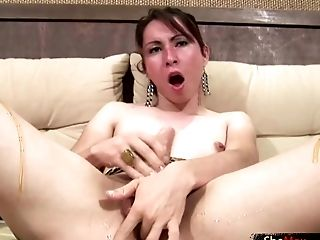 Big Ass, Big Cock, Boobless, Brunette, Dick, Handjob, HD, Masturbation, Shemale, Solo,