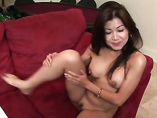 Babe, Cute, Ethnic, Fingering, Horny, Jackie Lin, Massage, Masturbation, Pussy, Solo,