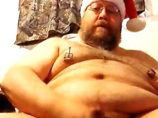 Bear, Fat, Masturbation, Mature, Santa, Webcam,