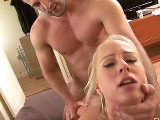 Blonde, Blowjob, Boobless, Carla Cox, Cumshot, Hardcore, Missionary, Riding, Striptease, Titjob,
