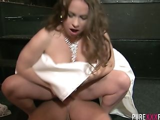 Ass, Blowjob, Boobless, Bride, Brunette, Cheating, Cowgirl, Cumshot, Cute, Flexible,