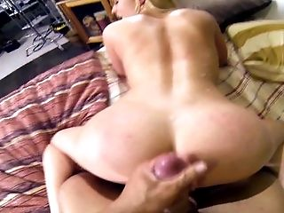 Bedroom, Behind The Scenes, Big Ass, Blonde, Bold, Caucasian, Couple, Cumshot, HD, High Heels,