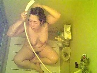Bathroom, BBW, Japanese,