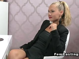 Amateur, Blonde, Blowjob, Casting, Couch, Czech, European, Fucking, Hardcore, Moaning,