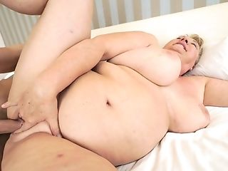 Babe, BBW, Big Tits, Blonde, Blowjob, Cumshot, Felching, Granny, Natural Tits, Old And Young,